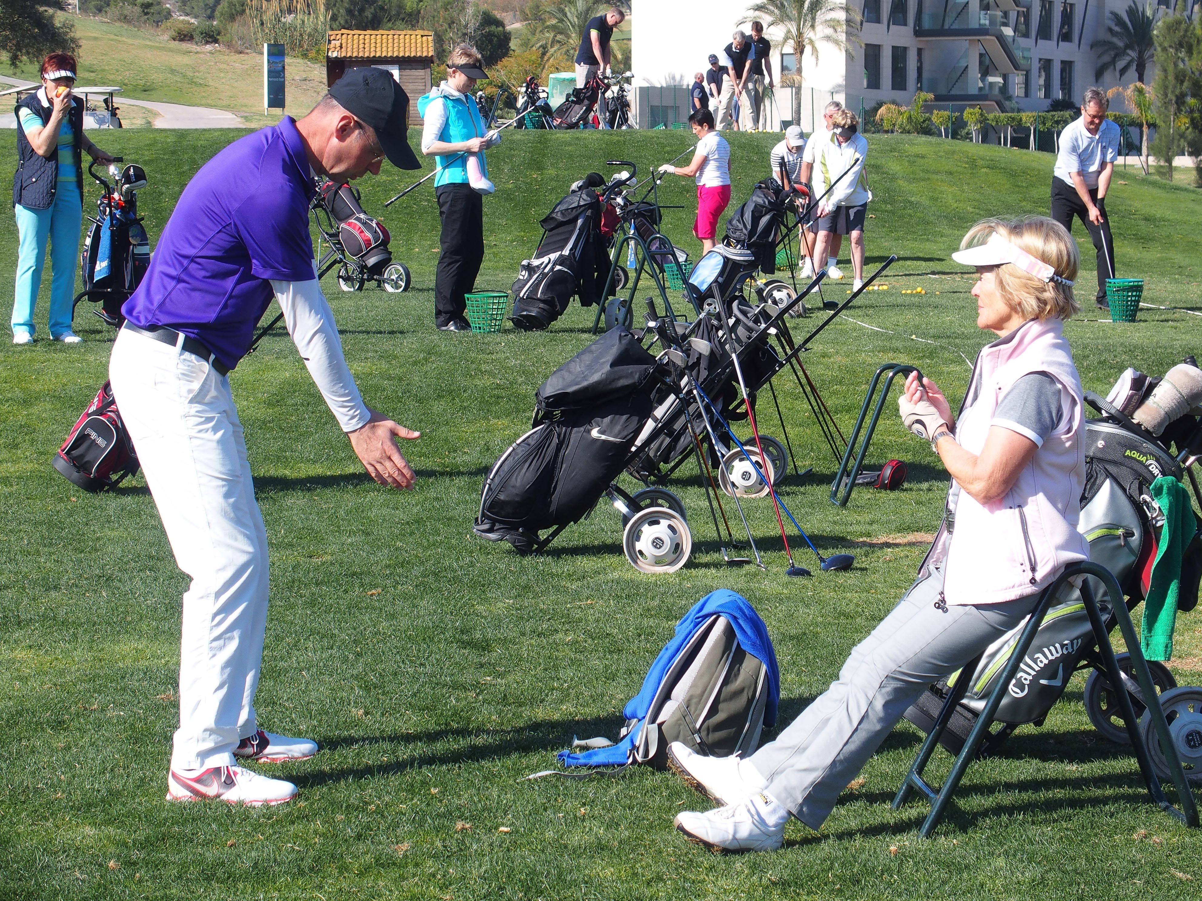 Frühbucheraktion für Golfkursbuchungen