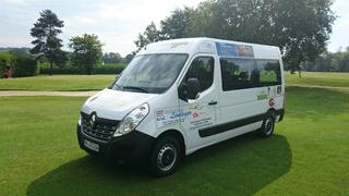 Neu!!! GC Sagmühle nun mit Vereinsbus ausgestattet