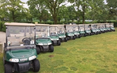 Golfclub Sagmühle modernisiert Cartflotte