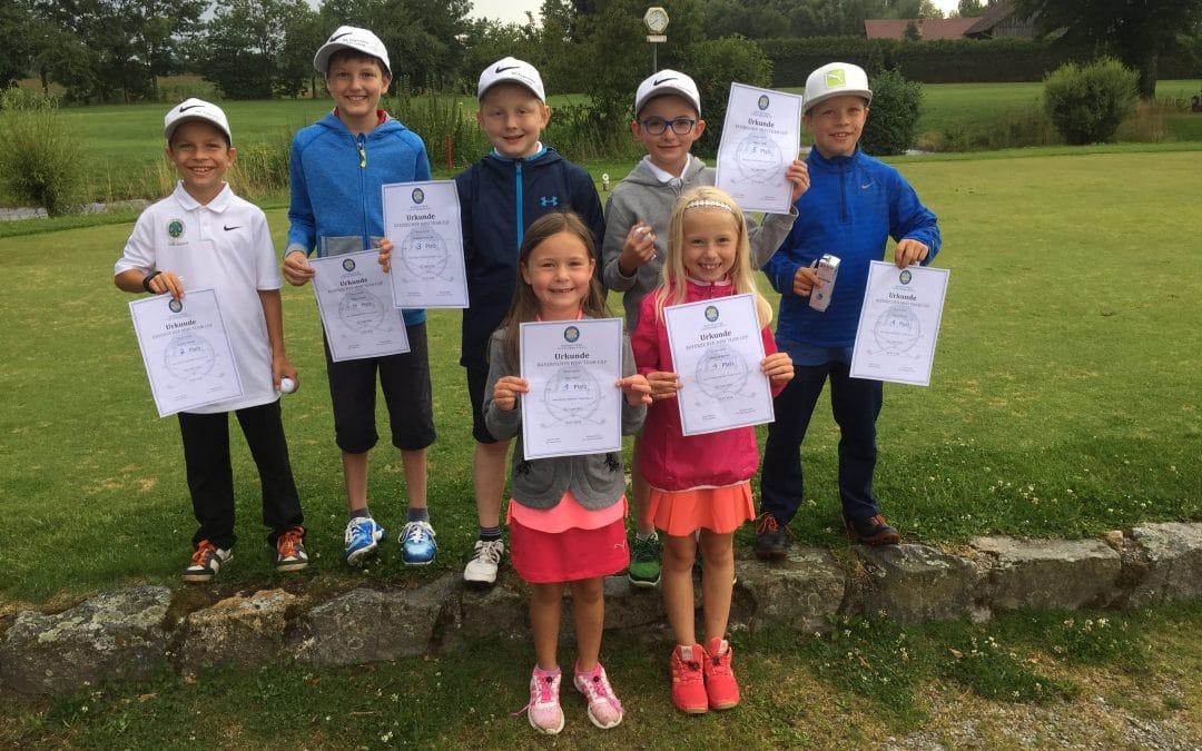 Nachwuchs spielt vierten internen BGV Mini-Team-Cup