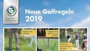 Regelabende zu den neuen Golfregeln am 9. und 26. April 2019