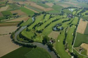 Golfplatz Sagmühle von oben