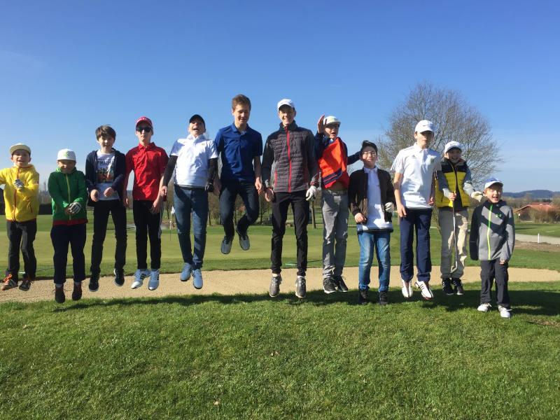 Gruppenfoto-Golf