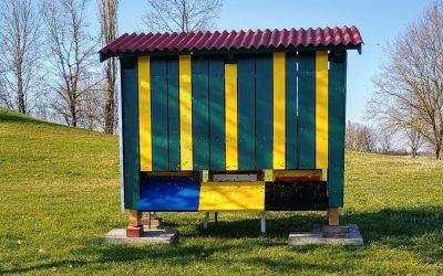 Zweites Bienenhaus auf dem Golfplatz Sagmühle
