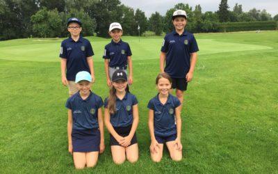 Nachwuchs vom Golfclub Sagmühle spielt BGV Mini-Cups