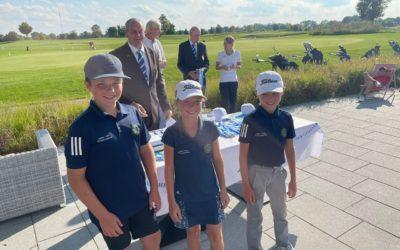 Geschwister Dietz sichern sich den ausgezeichneten 3. Platz beim BGV Mini-Team-Cup Finale