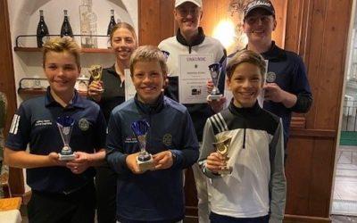 Kinder- und Jugendclubmeisterschaften 2021: Leonhard Rothbauer, Leopold Bauer und Sebastian Gruber sind neue Clubmeister